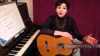 Уроки игры на гитаре с Викторией Юдиной