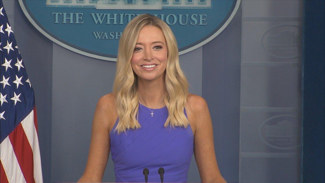 08/13/20: Press Secretary Kayleigh McEnany Holds a  Press Briefing