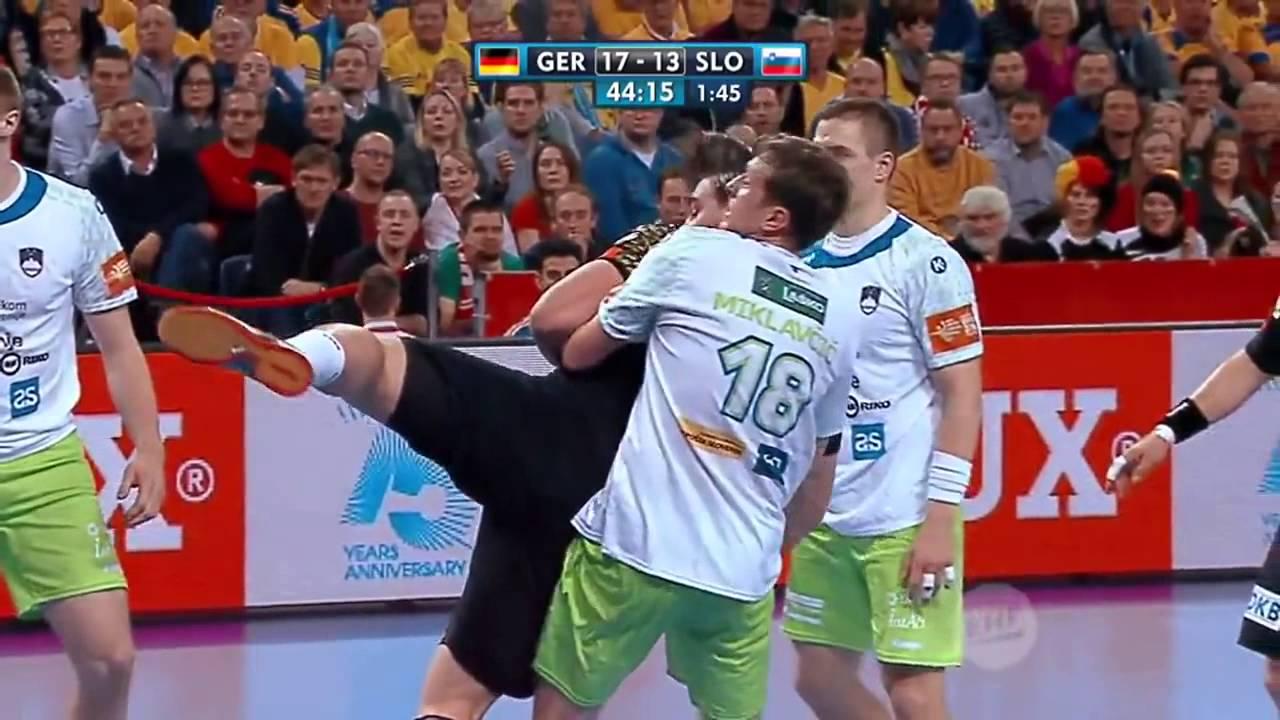 Handball EM: Die Top 5 Tore der Partie Deutschland Slowenien | Sportschau