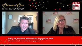 Jeffrey Erb, McCann Health Engagement – 2020 PharmaVOICE 100 Celebration