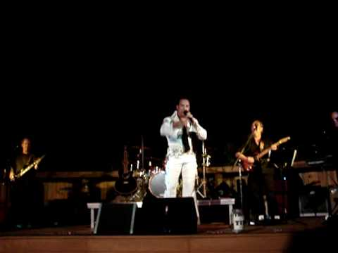 Elvis Impersonator, Ron Adams Destin, Fl by David Butler