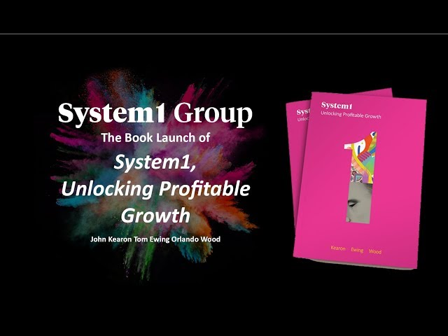 System1 Group Book Launch