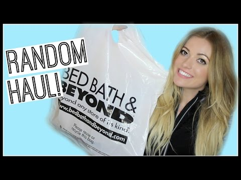 Bed Bath & Beyond HAUL! Style By Dani