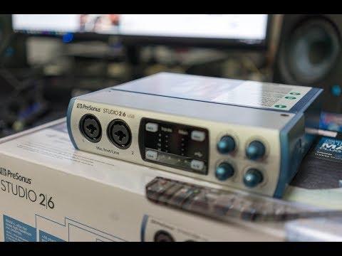 Presonus Studio 26 Audio Interface - Unboxing & Overview