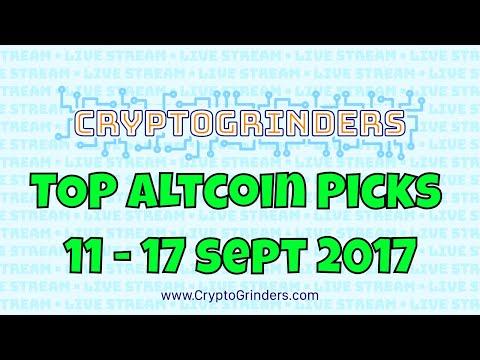 TOP ALTCOIN PICKS | 11 - 17 SEPT 2017 |