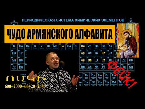 Библия и алфавит святого Маштоца против фейка о чудесной связи армянских букв с таблицей Менделеева