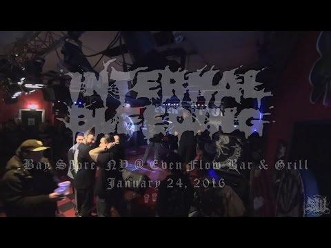 INTERNAL BLEEDING - FULL SET LIVE (EVEN FLOW BAR & GRILL 1/24/16) SW EXCLUSIVE