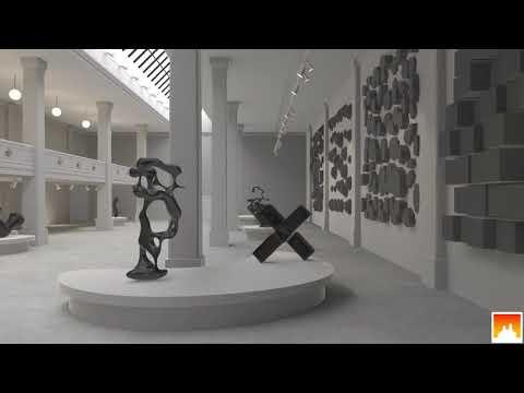 Modern Art Gallery Unity3d asset