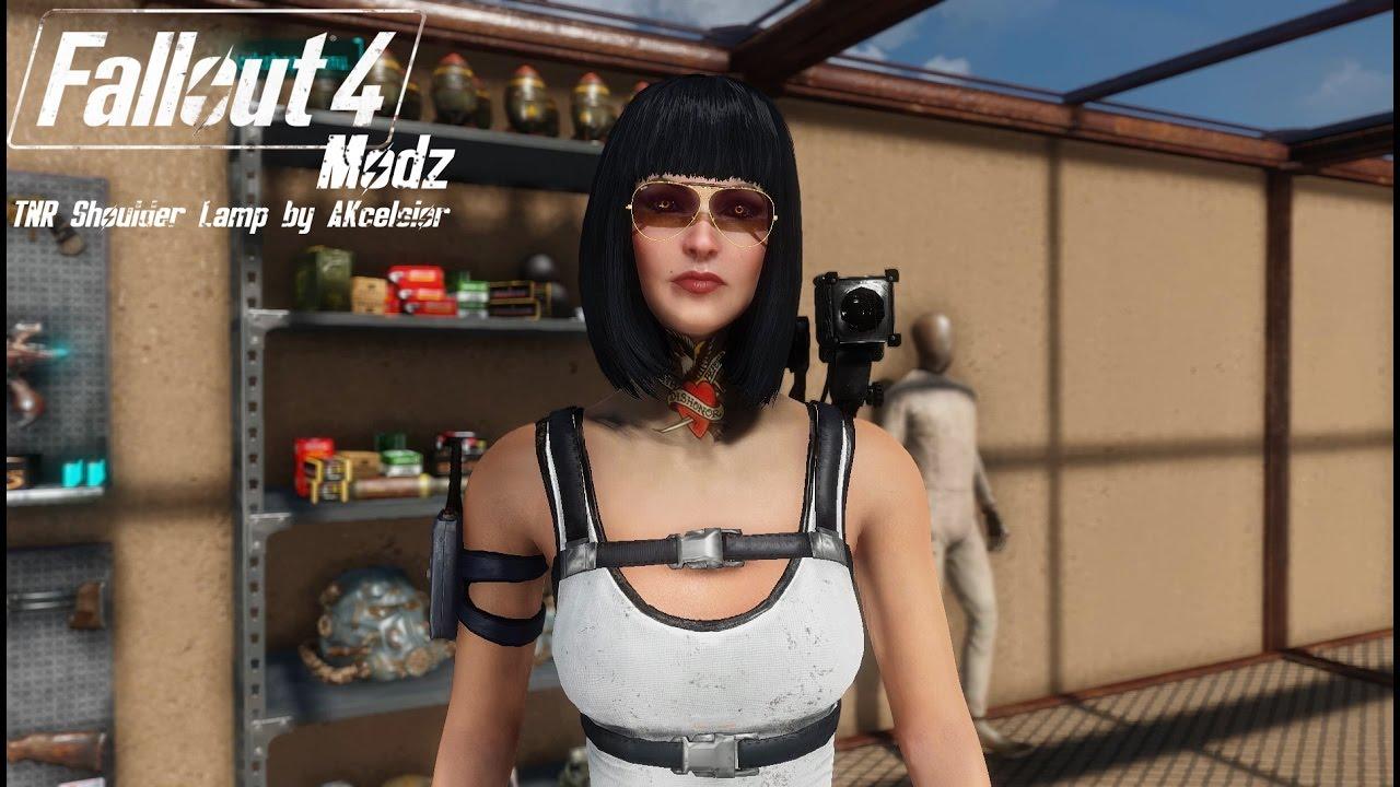 Fallout 4 Modz #47: TNR Shoulder Lamp - YouTube