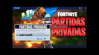 PARTIDAS PRIVADAS DE FORTNITE BATTLE ROYALE CON SUBS EN DIRECTO!! | Fortnite : Battle Royale