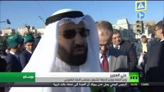 بوتين يفتتح المسجد الكبير في موسكو