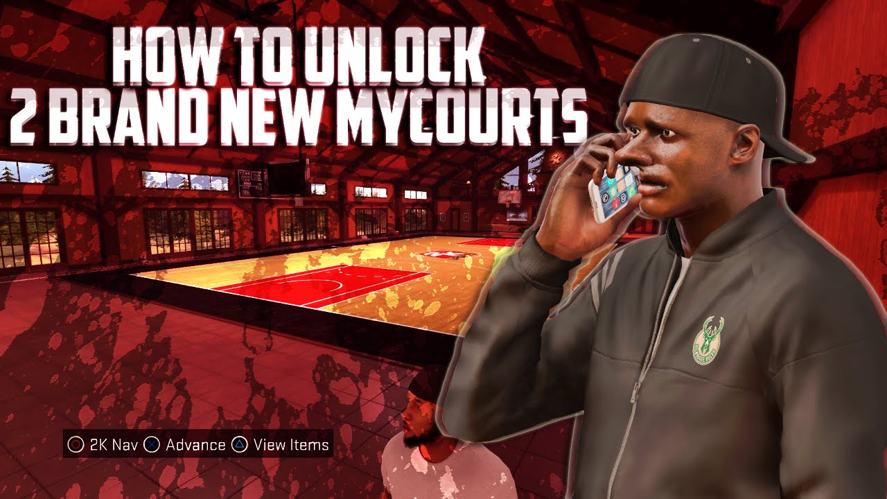 NBA 2K17 - HOW TO UNLOCK 2 NEW MYCOURTS