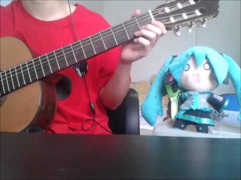 【初音ミク】Hatsune Miku - ひらり、ひらり Hirari, Hirari (Guitar Cover)