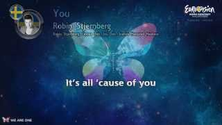Robin Stjernberg You- Sweden [Karaoke version]