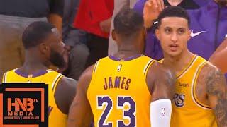 Los Angeles Lakers vs San Antonio Spurs 1st Half Highlights | 10.22.2018, NBA Season