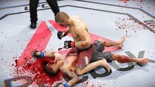 ЖЕСТОКИЕ СРАЖЕНИЯ в МИРОВОМ РЕЙТИНГЕ ТОП 5 UFC 3 НОКАУТЫ