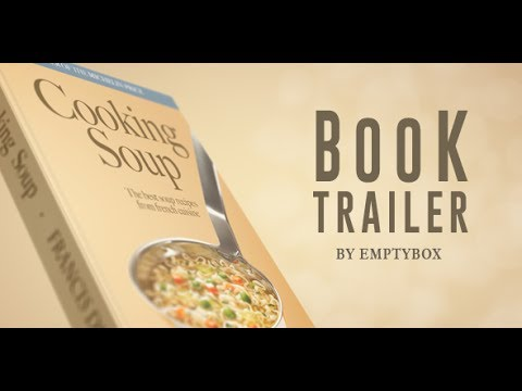 book trailer after effects template youtube. Black Bedroom Furniture Sets. Home Design Ideas