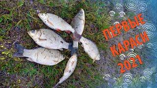 Апрельские Караси 2021 Судак на Тюльку Рыбалка в Нечаянном