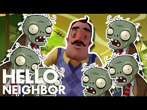 Minecraft Hello Neighbor - Zombies Invasion (Minecraft Roleplay)