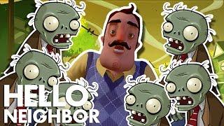 Minecraft Hello Neighbor - Zombies Invasion (Minecraft Roleplay)