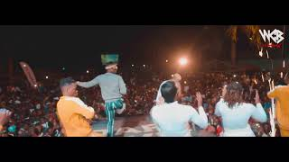 Diamond Platnumz - Perfoming Live Bado with Harmonize (DAR LIVE)