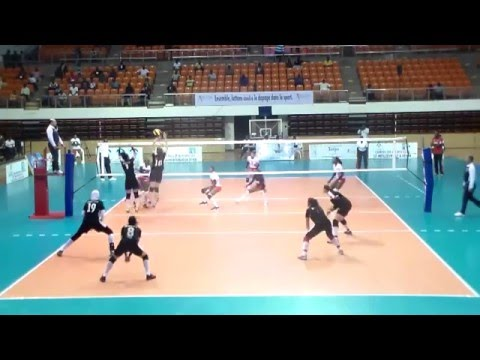 ُُُEgypt vs Kenya volleyball woman