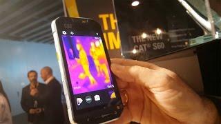 Probamos el CAT S60, el primer móvil con cámara térmica