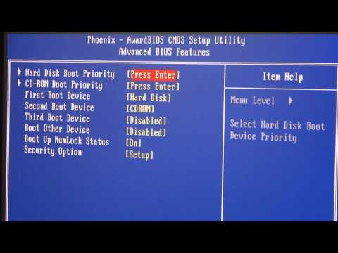 Building a Computer, Part 7: First Boot and Setting up the BIOS