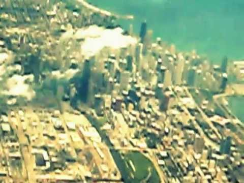A mystical flight over Chicago