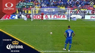 Gol de Milton Caraglio | Cruz Azul 1 - 0 Pumas | Clausura 2019 - J15 | Presentado por Corona