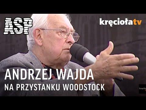 Retransmiaja spotkania na ASP z Andrzejem Wajdą