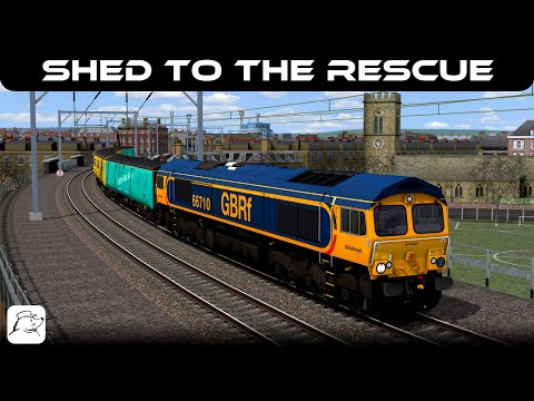 Shed To The Rescue! | BR Class 66 | North London Line