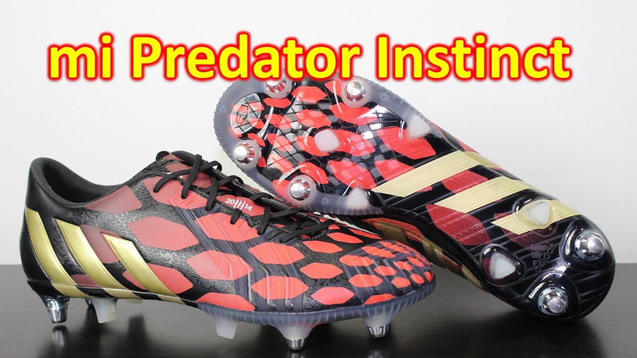 mi Adidas Predator Instinct Black Solar Red Black - Review + On Feet. Soccer  Reviews For You 19d8a9aa7