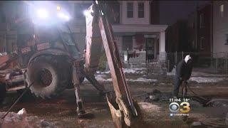 Harsh Weather Has Crews Scrambling To Repair Water Main Breaks Across Philadelphia