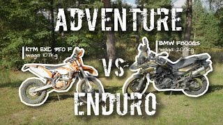 Adventure vs Enduro