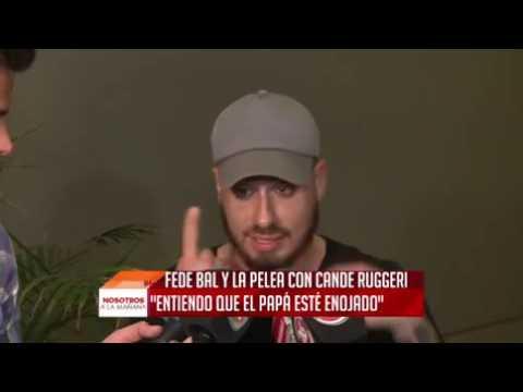 Fede Bal: Quiero hablar con Oscar Ruggeri en privado