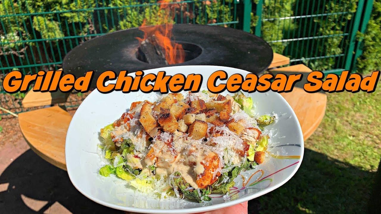 Grilled Chicken Ceasar Salad - Ein Salat ganz nach meinem Geschmack!