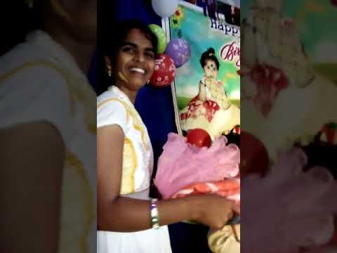 My Daughter birthday celebration at HomE Nathallagudem
