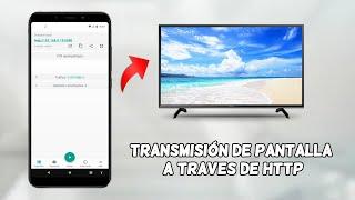 Comparte la pantalla de tu Android en cualquier ordenador a través del WIFI