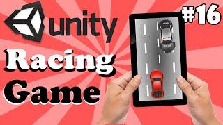 16.Unity Racing Game Development Tutorial-GameOver Menu