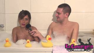 Anais (Les Anges 6) dans le bain de Jeremstar - INTERVIEW