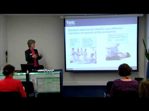 Assessing the hospital communication skills of migrant health professionals in Europe - IATEFL 2015