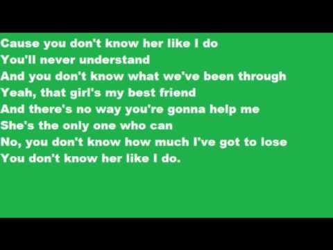 Brantley Gilbert You don't know her like I do lyrics - YouTube