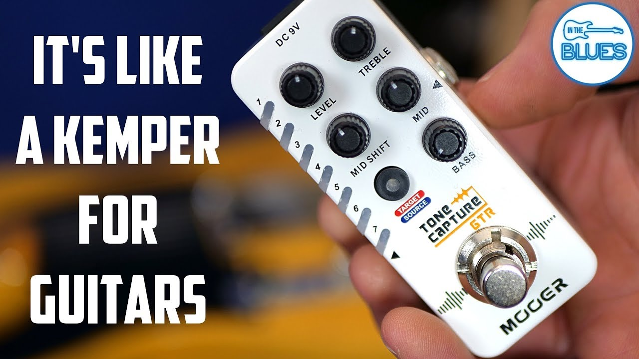 The Mooer Tone Capture GTR - It's like a Mini-Kemper for Guitars!