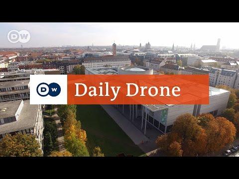 #DailyDrone: Pinakothek der Moderne, Munich | Daily Drone