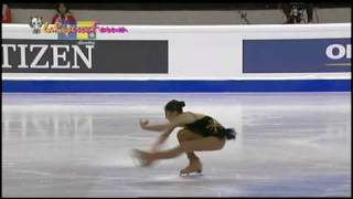 TORINO 2010 26/03/2010 -14/19- LADIES Short - USA Mirai NAGASU 長洲未来 検索動画 23