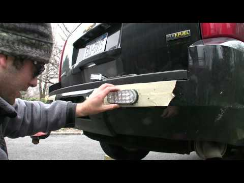 How To Rear Lights On 2008 Tahoe Youtube