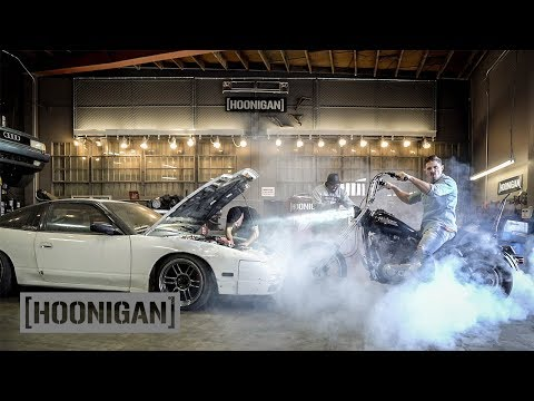 [HOONIGAN] DT 220: Timing Hert's $1400 240sx & Harley…