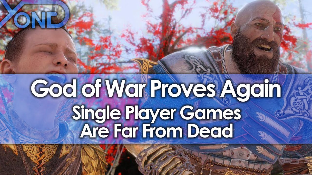 God of War Proves Again Single Player Games Are Far From Dead, Makes $131 Million in Launch Month