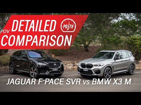 2020 BMW X3 M Vs Jaguar F-PACE SVR: Detailed Comparison (POV)